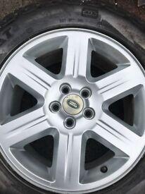 "Freelander 2 17"" Alloy wheel and Tyre"
