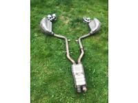 Used, Mercedes c class w204 exhaust amg c 63 for sale  Ilford, London