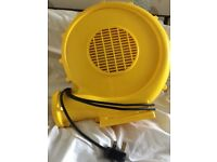 Electric air blower for bouncy castle