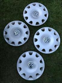 Volkswagen mk4 golf bora 15inch wheel trims