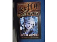 Buffy The Vampire Slayer paperback - Here Be Monsters - As New condition