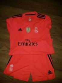 Real Madrid new kit (orange)