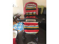 Travel System 2in1 Silver Cross Wayfarer in Chili Red