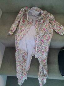 Monsoon sleepsuit girls 12-18