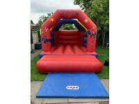 Spiderman bouncy castle for hire