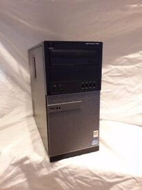Core i5 Dell Optiplex 990. 3.1GHZ, 8GB Memory, 250GB Hard Drive. Windows 10 & 1 Year Warranty
