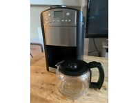 Russell Hobbs Coffee Machine - Grinder for beans or straight in with ground coffee