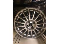 oz racing alloy set 17""