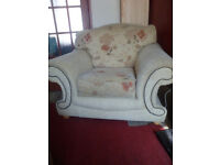 For Sale - Beige Armchair with Pattern (2)