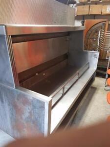 1950 vintage diner hood/cook unit