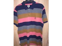 Men's brand new pretty green polo shirt