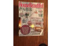 House Beautiful magazine, back issues