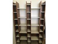 Stunning Storage: John Lewis Contemporary Shelving Unit AS NEW