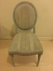 Antique Victorian Chair Reproduction made 1989