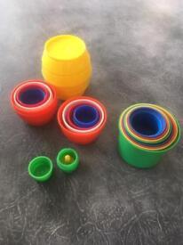 Vintage Kiddicraft Billie and his barrels