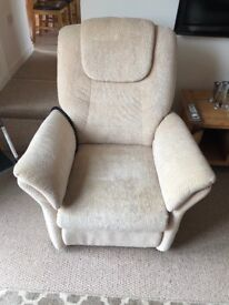 Lift and recline arm chair