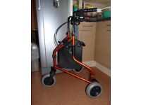 3 Wheeled Foldable Mobility Walker - VGC!!