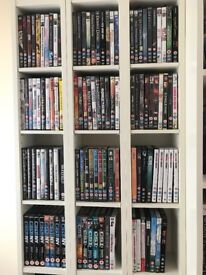 Collection of DVDs (Movies + TV Shows), approx. 80 titles.