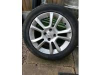 Corsa sxi alloy brand new tyre