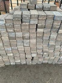 Block paving grey