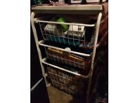 Drawers basket storage
