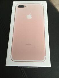 Brandnew iPhone 7 plus