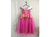 Princess Aurora fancy dress 120 cm length new never worn
