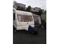 Touring Caravan 4 Berth Bailey Pageant Moselle inc Motor Mover