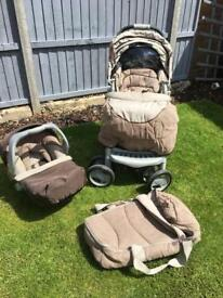 MOTHERCARE DELUXE TRAVEL SYSTEM