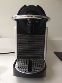 Nespresso Aluminium Pixie Coffee Machine by Magimix