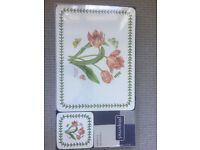 Placemats and Coaster Set of 6