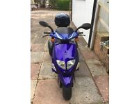 Nippi trippi 50, 49cc scooter for mobility in blue pick up only for the item from Newton abbot