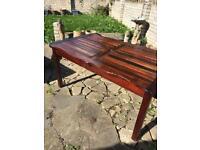 Pj Bridgeman garden table