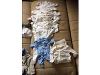 Newborn boys clothes bundle