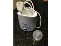 Tommee tippee bottle warmer & brand new teats