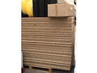 Chipboard mezzanine floor panels