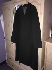 Heavy Full Length Wool Coat