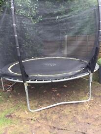 Plum Products 10ft trampoline & enclosure