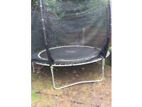 Plum Products 10ft trampoline & enclosure