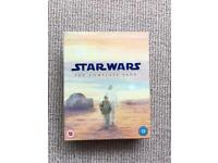 Star Wars: The Complete Saga (Blu-Ray and DVD)