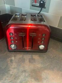 Morphy richards kettle and toaster matching set