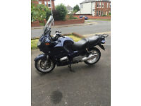 2002 BMW R1150RT with panniers