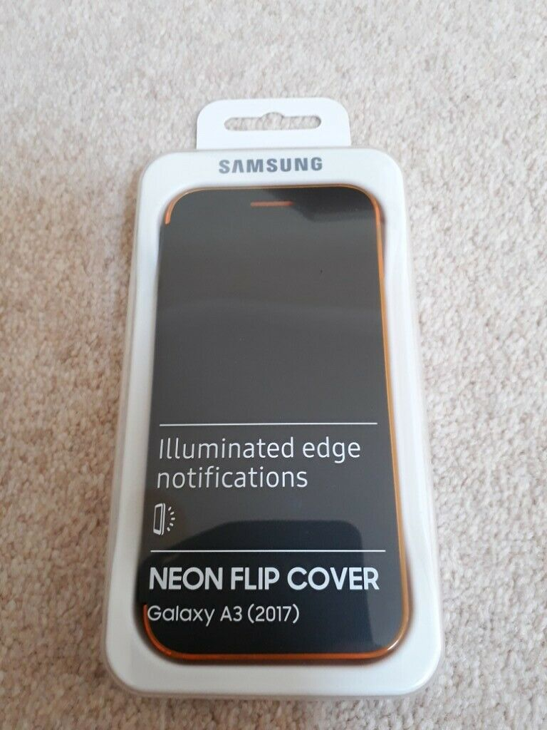 the best attitude ec62e 4cdbb Samsung Galaxy A3 (2017) Neon Flip Case Cover | in Poole, Dorset | Gumtree