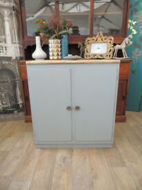Lovely shabby chic industrial cabinet/sideboard