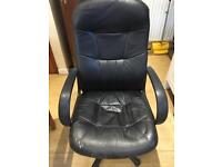 Adjustable Swivel Computer Office Chair With Arm Rests