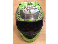 Nitro crash helmet