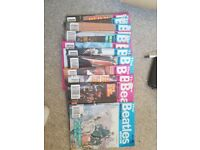 The beatles book magazines feom 1990-92 x 12