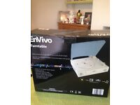 Envivo turntable used once brand new condition