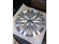 5 stud steel rims & hub caps