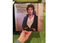 """Bruce Springsteen - darkness on the edge of town 12""""LP"""